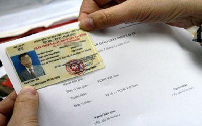 Năm 2021, đổi giấy phép lái xe khi mất hồ sơ gốc được không?