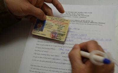 Hướng dẫn cách viết mẫu đơn xin cấp đổi giấy phép lái xe 2021